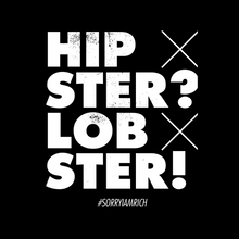 Laden Sie das Bild in den Galerie-Viewer, Hipster? Lobster - Boys – Black - SorryIamRich