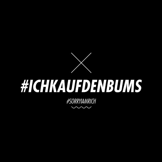 #ICHKAUFDENBUMS - Girls - Black - SorryIamRich