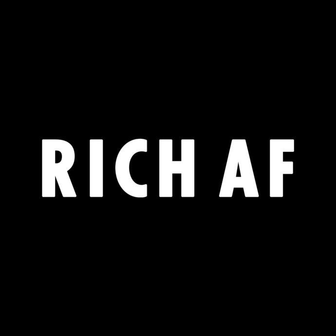 RICH AF - Boys - Black - SorryIamRich