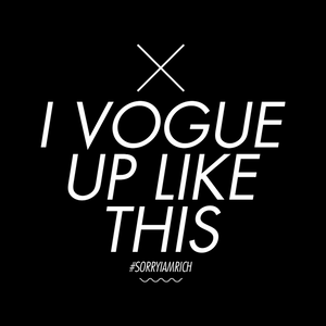 Vogue Up Like This - Girls - Black - SorryIamRich