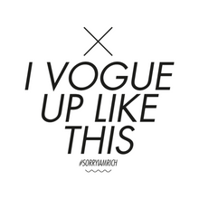Load image into Gallery viewer, Vogue Up Like This - Boys - White - SorryIamRich