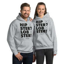 Laden Sie das Bild in den Galerie-Viewer, Hipster? Lobster! Hoodie - Unisex - White - SorryIamRich