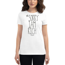 Load image into Gallery viewer, #SORRYIAMRICH - Girls - White - SorryIamRich