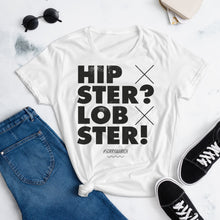 Laden Sie das Bild in den Galerie-Viewer, Hipster? Lobster - Girls – White - SorryIamRich