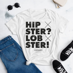 Hipster? Lobster - Girls – White - SorryIamRich