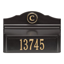 Load image into Gallery viewer, carolina mailboxes nc Colonial Wall Mailbox Pkg 1