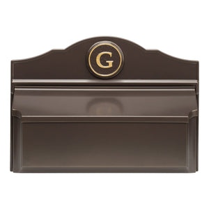 carolina mailboxes nc Colonial Wall Mailbox Pkg 3