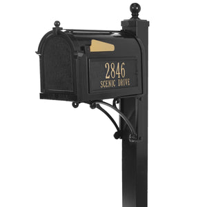 Whitehall Deluxe Capital Mailbox Package
