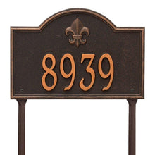 Load image into Gallery viewer, Bayou Vista - Standard Lawn Plaque