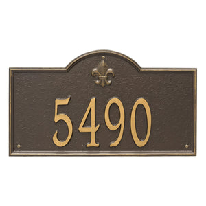 Bayou Vista - Estate Wall Plaque