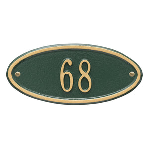 Madison Oval - Petite Wall Plaque