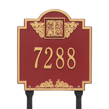 Load image into Gallery viewer, Whitehall Monogram - Standard Lawn Plaque