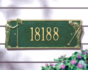 Golf Greens Plaque