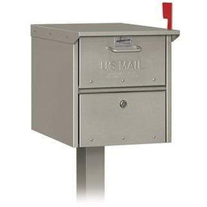 Locking Mail Chest w/ Post - Residential