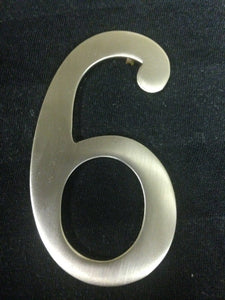3 Inch Brushed Nickel - #6/9