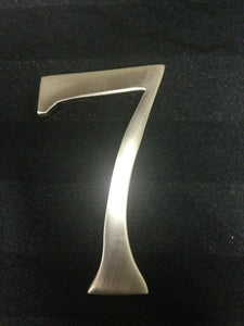 3 Inch Brushed Nickel - #7