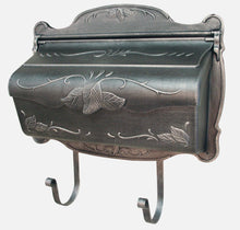 Load image into Gallery viewer, CMB Floral Horizontal Wall Mount Mailbox