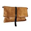 foldover crossbody - cinnamon