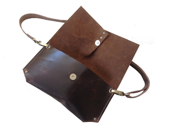 hipster leather hip pouch