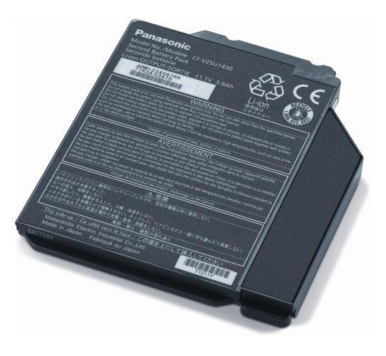 CF-VZSU1431U Panasonic 2nd Media Bay Battery for TOUGHBOOK 31