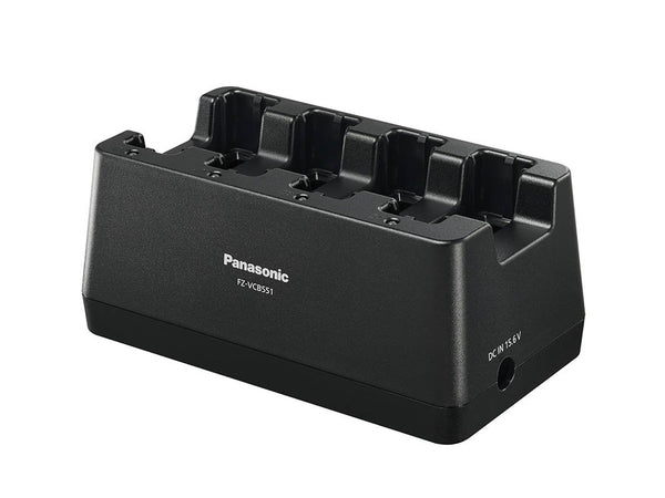 FZ-VCB551M Panasonic TOUGHBOOK 55 4-Bay External Battery Charger. Includes 100W AC Adapter.