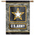 "U.S Army Star Digi Camo Vertical Flag (28""x40"")"