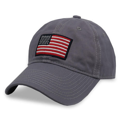 AFG American Flag Hat (Grey)