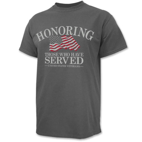 Honoring Those Who Have Served T-Shirt (Charcoal)