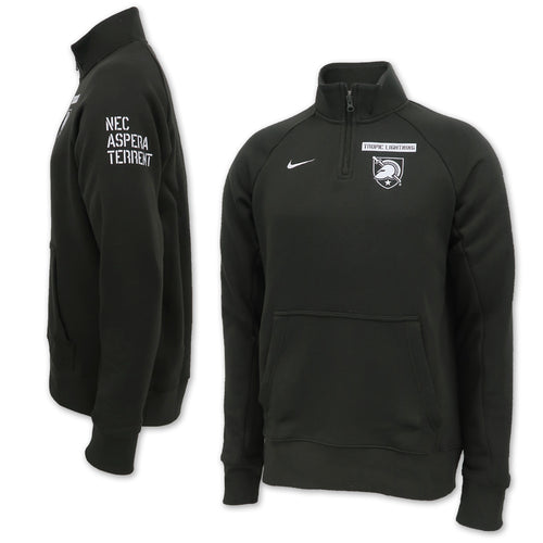 Nike Army Rivalry 2020 Club Fleece Quarter Zip (Sequoia)