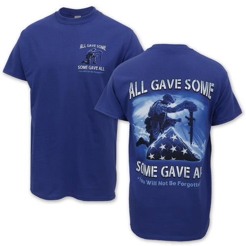 All Gave Some, Some Gave All T-Shirt (Blue)