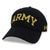 Army Under Armour Garment Washed Cotton Adjustable Hat (Black)