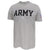 Army Under Armour Performance Cotton T-Shirt (Silver Heather)