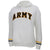 Army Ladies Tackle Twill Fleece Stripe Hood (White)