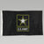 ARMY STAR 2 SIDED EMBROIDERED FLAG (3'X5') 1