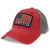 ARMY AMERICAN FLAG DASHBOARD TRUCKER HAT (SCARLET) 1