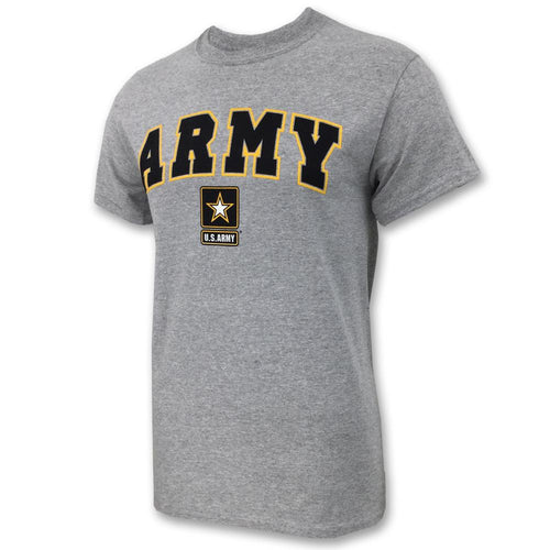 ARMY ARCH STAR T-SHIRT (GREY) 2