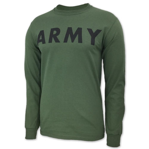 ARMY CORE LONGSLEEVE T (OD GREEN) 2