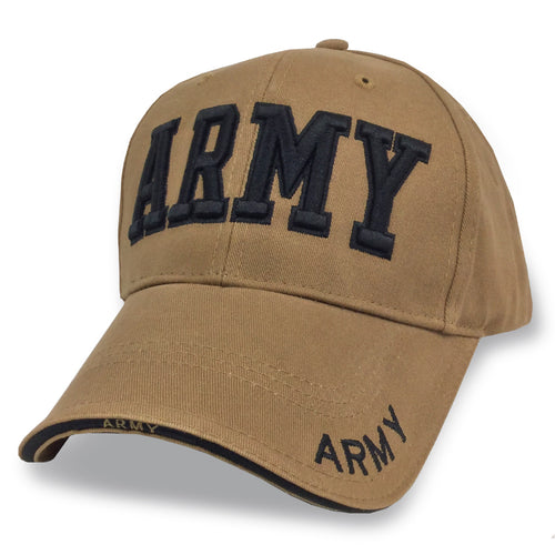 ARMY COYOTE BROWN CAP