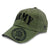 ARMY CREST ON BILL HAT 5