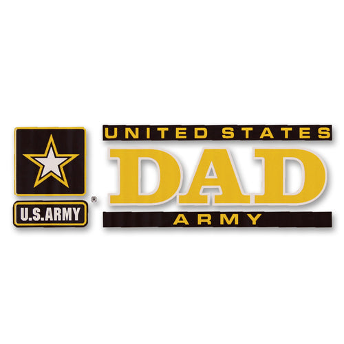 ARMY DAD DECAL 1