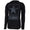 ARMY DISTRESSED STAR LONG SLEEVE HOODIE T (BLACK)