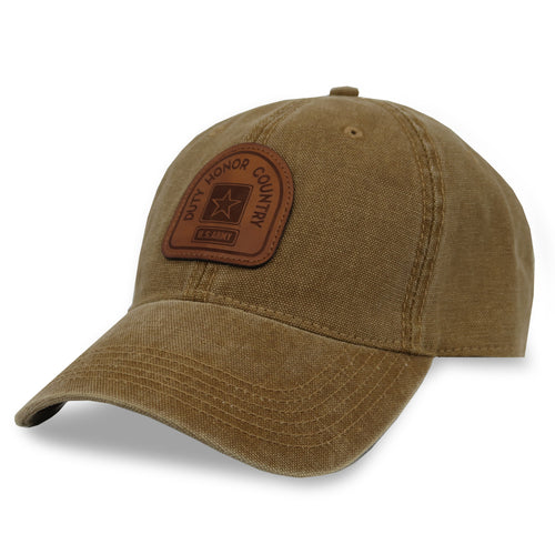 ARMY DUTY HONOR COUNTRY DASHBOARD ADJUSTABLE HAT (CAMEL) 2