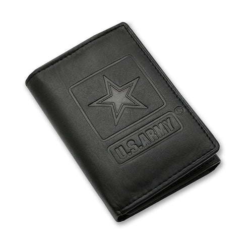 ARMY EMBOSSED TRIFOLD WALLET 2