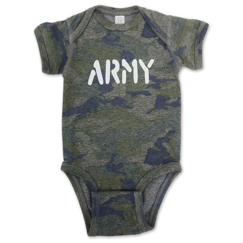 ARMY INFANT ROMPER T-SHIRT (CAMO)