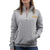 ARMY LADIES DAKOTA QUARTER ZIP PULLOVER (GREY) 4