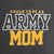 ARMY LADIES PROUD MOM T-SHIRT (GREY)