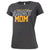 ARMY LADIES PROUD MOM T-SHIRT (GREY) 6