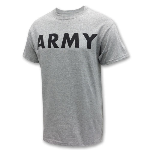 ARMY LOGO CORE T-SHIRT (GREY) 1