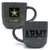 ARMY MARBLED 17 OZ MUG (GREY) 2