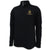 ARMY MEN'S DOUBLE KNIT 1/4 SNAP (BLACK) 1